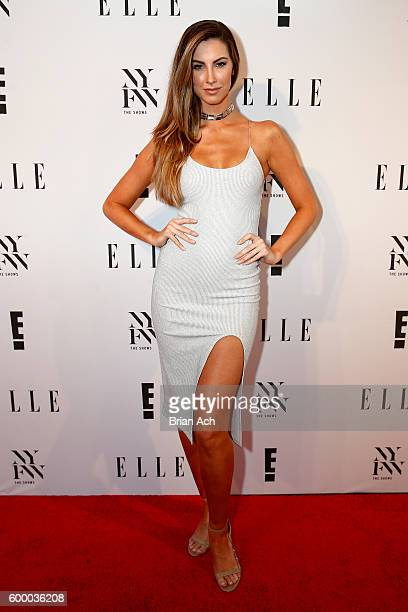 Katherine Webb attends E ELLE IMG Party to celebrate the opening of NYFW at Santina on September 7 2016 in New York City