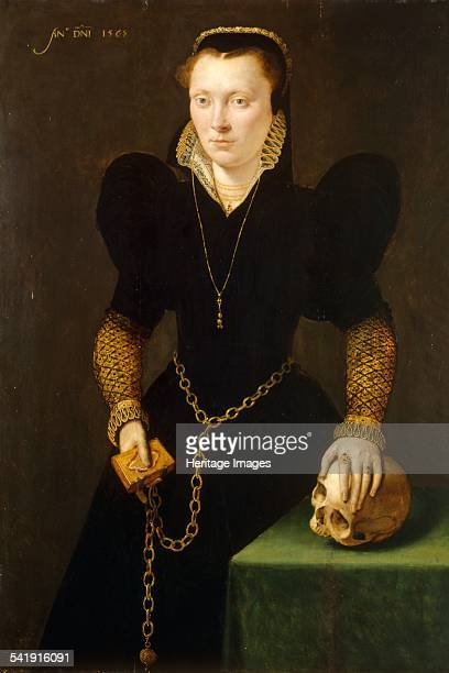 Katheryn of Berain The Mother of Wales' 1568 Artist Adriaen Van Cronenburgh