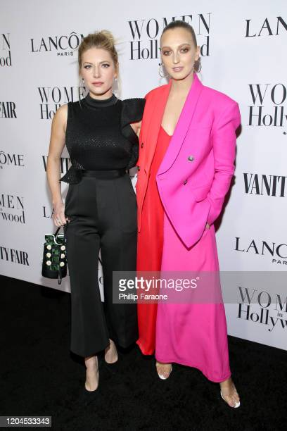 Katheryn Winnick and Georgia Hirst attend Vanity Fair and Lancôme Toast Women in Hollywood on February 06 2020 in Los Angeles California