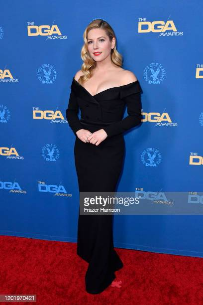 Katheryn Winnick arrives for the 72nd Annual Directors Guild Of America Awards at The Ritz Carlton on January 25 2020 in Los Angeles California