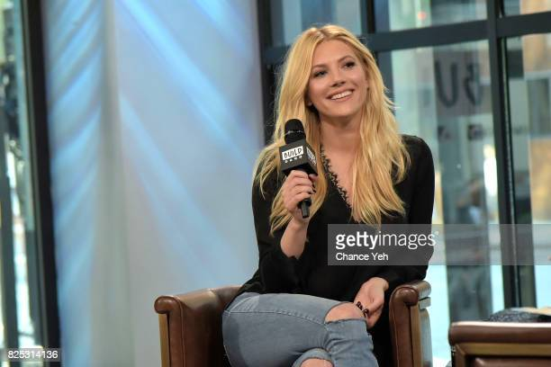 Katheryn Winnick attends Build series to discuss the hit series 'Vikings' and new film 'The Dark Tower' at Build Studio on August 1 2017 in New York...