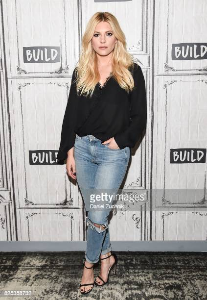 Katheryn Winnick attends the Build Series to discuss 'Dark Tower' and 'Vikings' at Build Studio on August 1 2017 in New York City