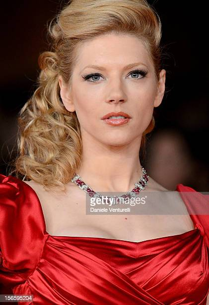Katheryn Winnick attends the Closing Ceremony Red Carpet during the 7th Rome Film Festival at the Auditorium Parco Della Musica on November 17 2012...