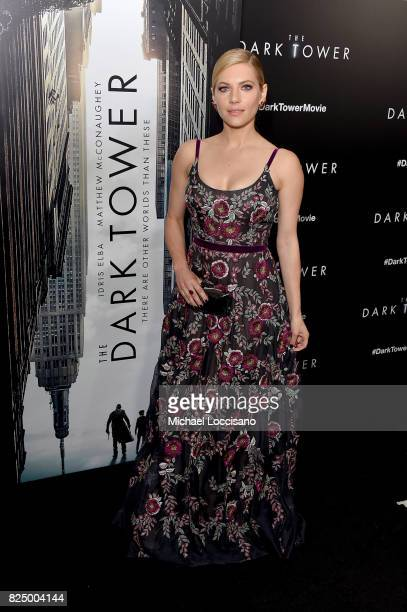 Katheryn Winnick attends The Dark Tower New York Premiere on July 31 2017 in New York City