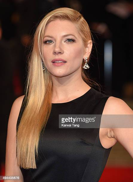 Katheryn Winnick attends the Royal Film Performance of 'Spectre' at the Royal Albert Hall on October 26 2015 in London England