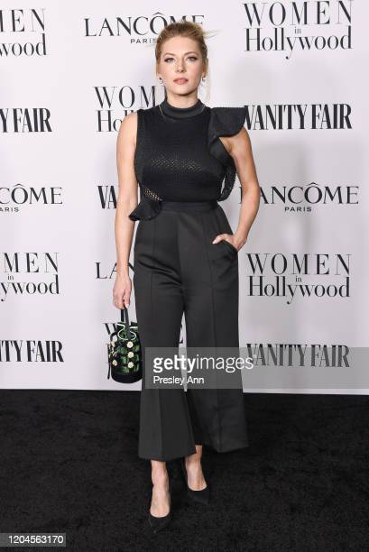 Katheryn Winnick attends the Vanity Fair and Lancôme Women in Hollywood celebration at Soho House on February 06 2020 in West Hollywood California