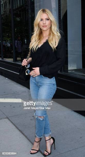 Katheryn Winnick is seen on August 1 2017 in New York City