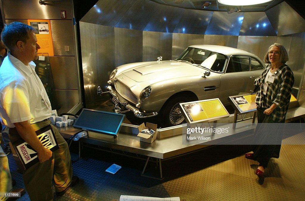 Kathey Coakley Shows Visitors The Aston Martin Car That Was Used In - Aston martin washington dc
