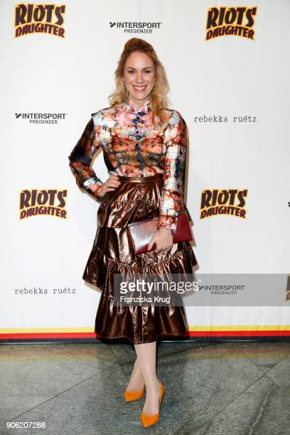 Kathi Woerndl during the Rebekka Ruetz Fashion Show at Embassy of Austria on January 17 2018 in Berlin Germany