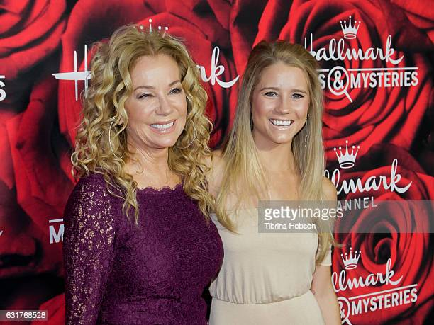 Kathie Lee Gifford and Cassidy Gifford attend Hallmark Channel Movies and Mysteries Winter 2017 TCA Press Tour at The Tournament House on January 14...