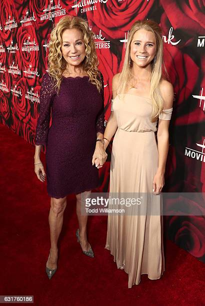 Kathie Lee Gifford and Cassidy Gifford attend the Hallmark Channel And Hallmark Movies And Mysteries Winter 2017 TCA Press Tour at The Tournament...