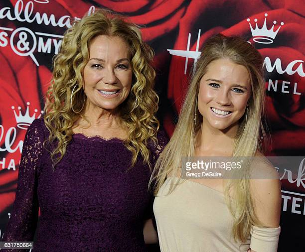Kathie Lee Gifford and daughter Cassidy Gifford arrive at Hallmark Channel And Hallmark Movies And Mysteries Winter 2017 TCA Press Tour at The...