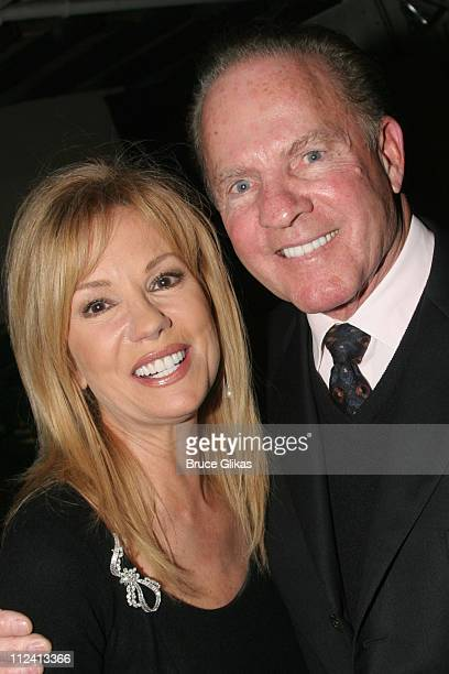 Kathie Lee Gifford and Frank Gifford during Kathie Lee Gifford's New Musical Under The Bridge Opening Night Afterparty at The Zipper Theater in New...