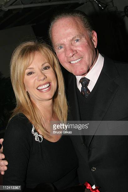 """Kathie Lee Gifford and Frank Gifford during Kathie Lee Gifford's New Musical """"Under The Bridge"""" - Opening Night Afterparty at The Zipper Theater in..."""