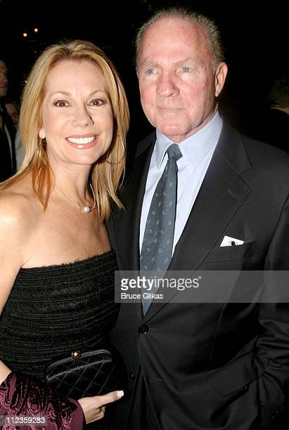 """Kathie Lee Gifford and Frank Gifford during Opening Night of """"Wicked"""" on Broadway at The Gershwin Theater and Tavern on The Green in New York City,..."""
