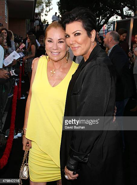 Kathie Lee Gifford and Kris Jenner attend New Line Cinema's Premiere Of The Gallows at Hollywood High School on July 7 2015 in Los Angeles California