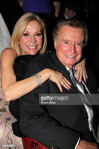 Kathie Lee Gifford and Regis Philbin attend the opening night of Scandalous on Broadway at the Neil Simon Theatre on November 15 2012 in New York City