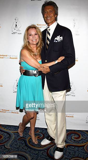Kathie Lee Gifford and Tommy Tune attend the 2nd National High School Musical Theater Awards at the Marriott Marquis Theater on June 28 2010 in New...
