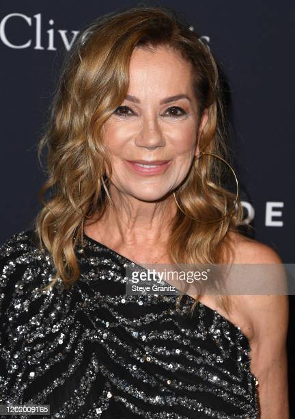 """Kathie Lee Gifford arrives at the Pre-GRAMMY Gala and GRAMMY Salute to Industry Icons Honoring Sean """"Diddy"""" Combs at The Beverly Hilton Hotel on..."""
