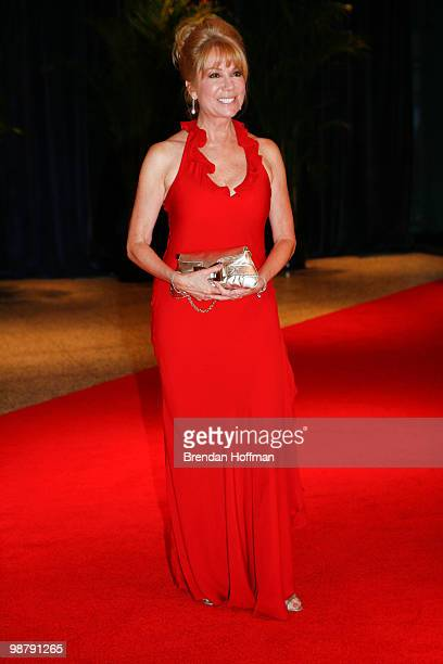 Kathie Lee Gifford arrives at the White House Correspondents' Association dinner on May 1 2010 in Washington DC The annual dinner featured comedian...