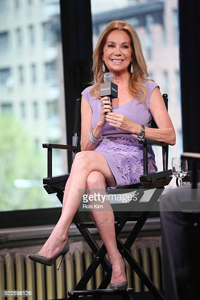 Kathie Lee Gifford attends AOL Build Series to discuss 'GIFFT Wines' at AOL Studios In New York on April 20 2016 in New York City