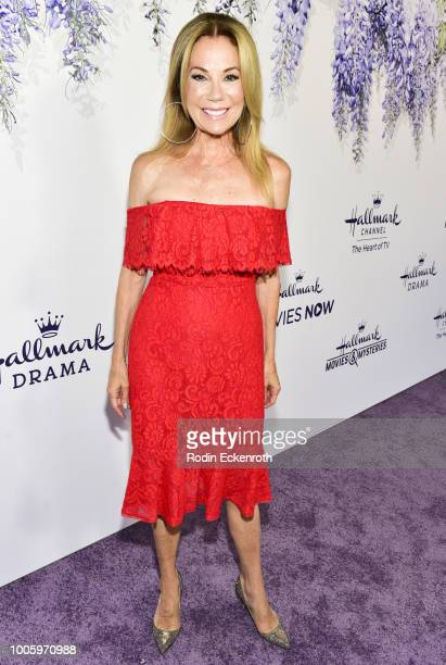 Kathie Lee Gifford attends the 2018 Hallmark Channel Summer TCA at a private residence on July 26 2018 in Beverly Hills California
