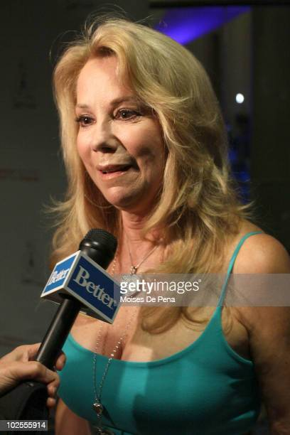 Kathie Lee Gifford attends the 2nd National High School Musical Theater Awards at the Marriott Marquis Theater on June 28 2010 in New York city