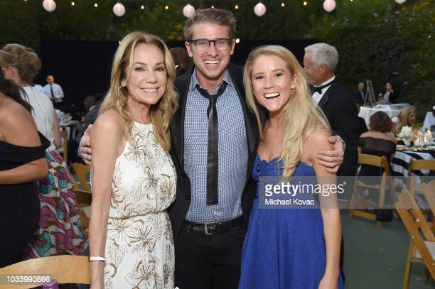 Kathie Lee Gifford Justin Mayo and Cassidy Gifford attend The COTA Awards on September 15 2018 in Malibu California