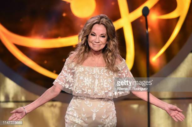 Kathie Lee Gifford speaks onstage at the 46th annual Daytime Emmy Awards at Pasadena Civic Center on May 05 2019 in Pasadena California