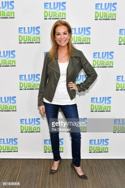 """Kathie Lee Gifford visits """"The Elvis Duran Z100 Morning Show"""" at Z100 Studio on March 14, 2018 in New York City."""