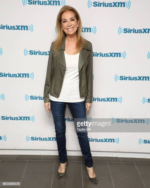 Kathie Lee Gifford visits the SiriusXM Studios on March 14 2018 in New York City