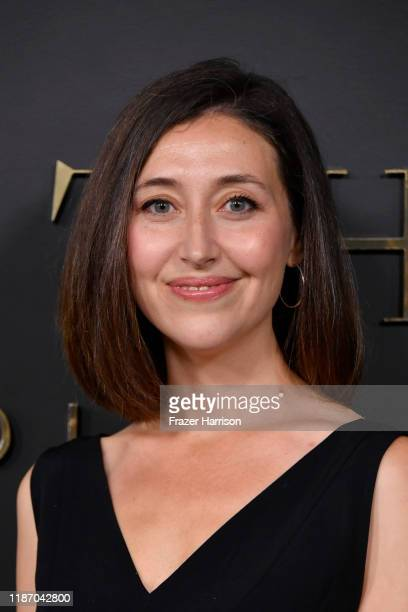 Kathleen Barber attends the Premiere of Apple TV's Truth Be Told at AMPAS Samuel Goldwyn Theater on November 11 2019 in Beverly Hills California