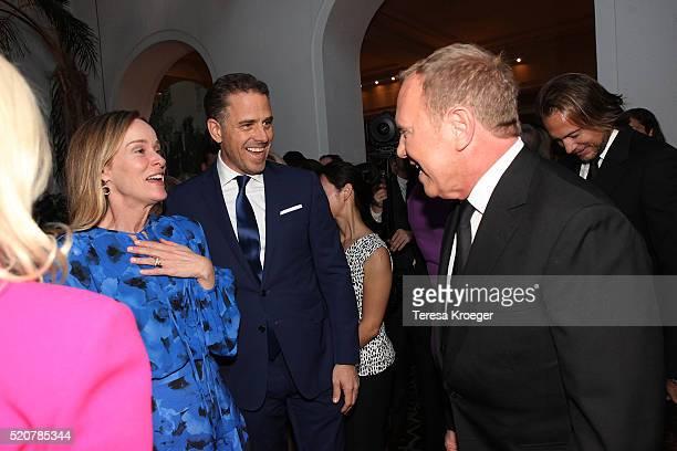 Kathleen Biden Hunter Biden and designer Michael Kors attend the World Food Program USA's Annual McGovernDole Leadership Award Ceremony at...