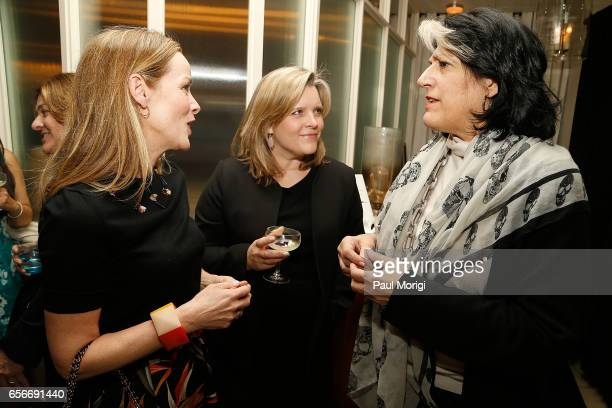 Kathleen Biden Kelley McCormick and Tammy Haddad attend ELLE and Bottega Veneta Women in Washington dinner hosted by Robbie Myers ELLE EditorinChief...