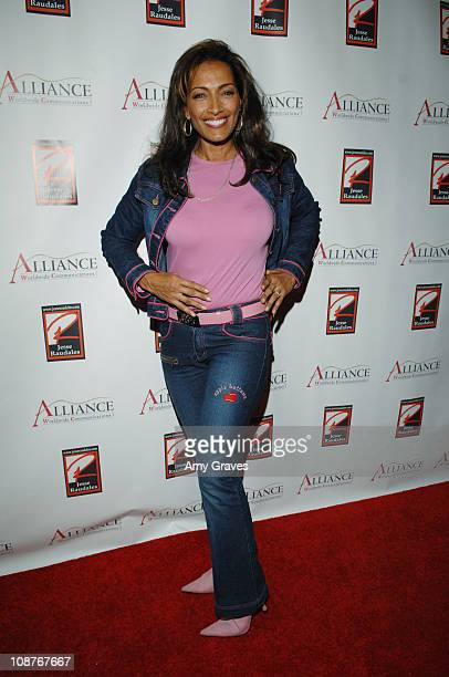 Kathleen Bradley during Jesse Raudales and Terrence Howard Peace for the Children Art Show at PounderKone Artspace in Glendale California United...