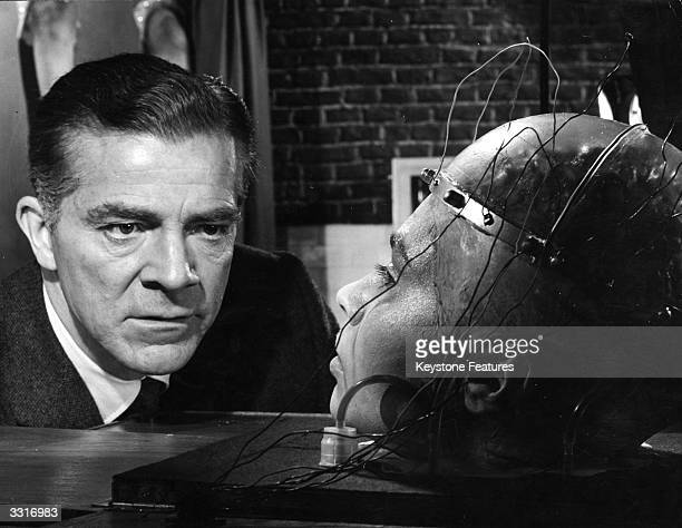 Kathleen Breck as the college girl whose severed head is kept alive for experimental purposes and Dana Andrews as the sinister Nazi scientist Dr...