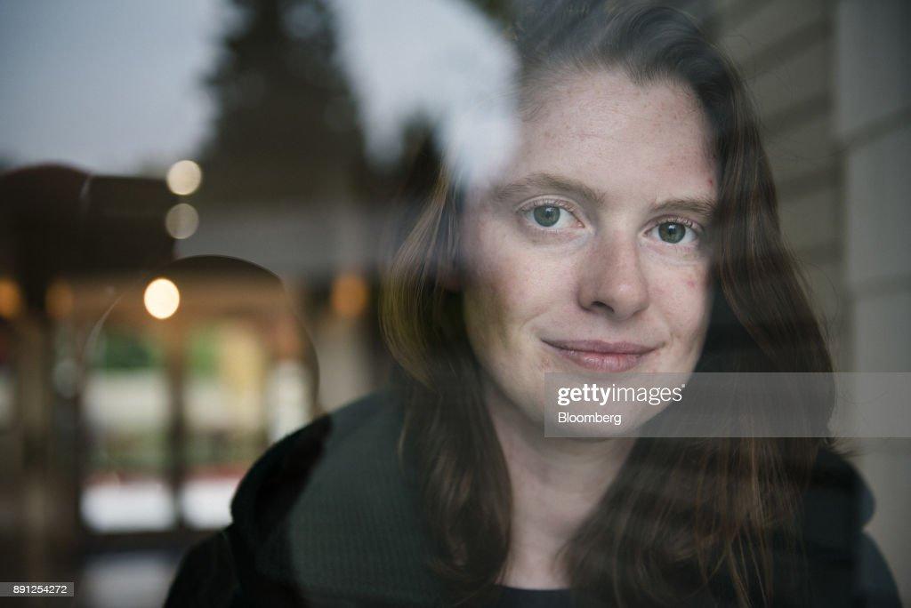 Tezos Co-Founder Kathleen Breitman Portraits : News Photo