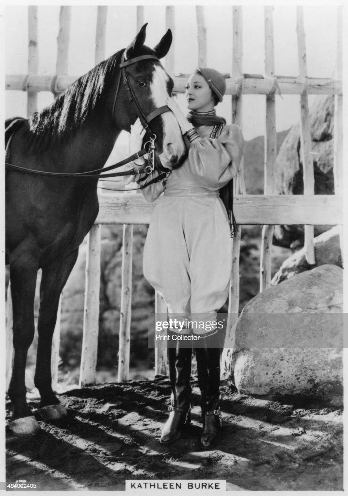 Kathleen Burke, American film actress, c1938. : News Photo
