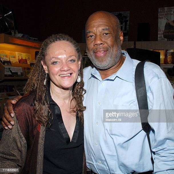 Kathleen Cleaver and Howard Bingham during Kathleen Cleaver Booksigning Target Zero A Life in Writing by Eldridge Cleaver October 29 2006 at ESO Won...