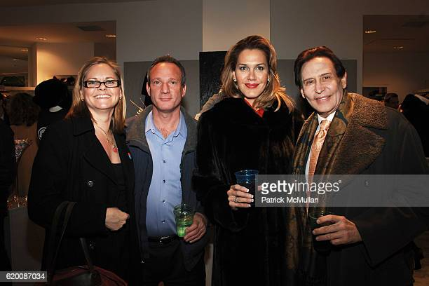 Kathleen Dalesbe Jay Epstein Annette Fribera and Dr Lewis Feder attend Celebrate Valentines Day with Patrick McMullan Ally Hilfiger Izzy Gold...