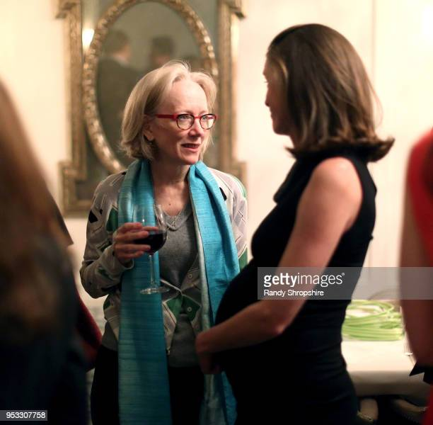 Kathleen deLaski and GLG Director Jennifer Field attend GLG Social Impact Dinner At Milken at Cecconi's on April 30 2018 in West Hollywood California