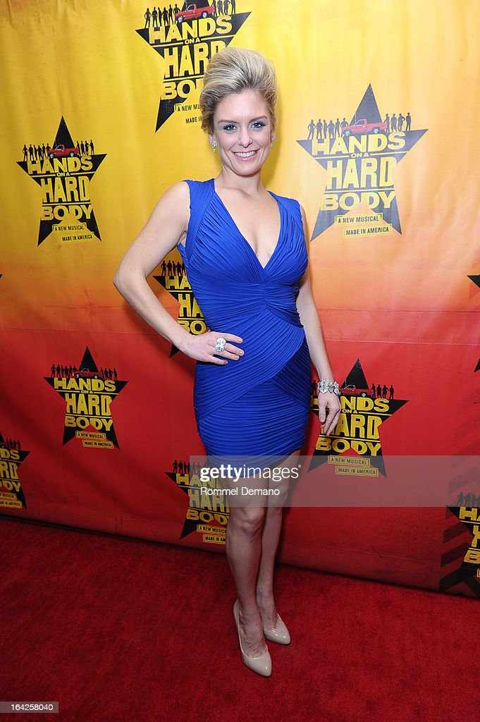 Kathleen Elizabeth Monteleone attends the 'Hands On A Hard Body' Broadway Opening Night After Party at Roseland Ballroom on March 21, 2013 in New York City.