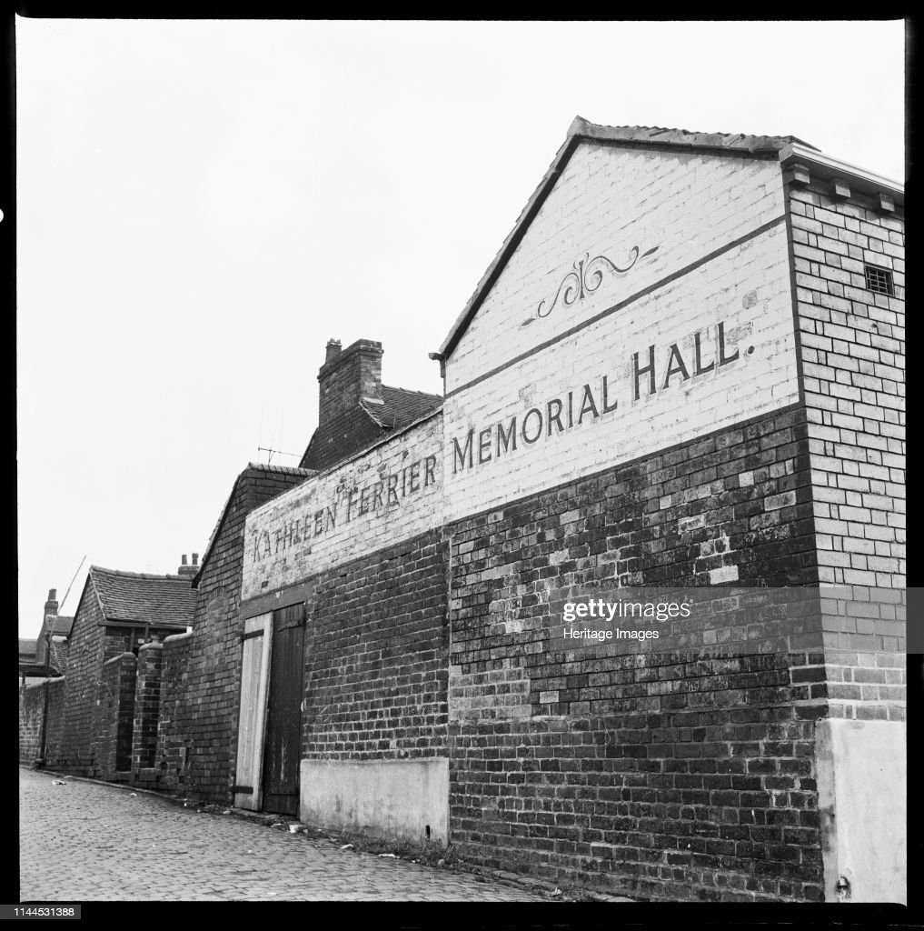 Kathleen Ferrier Memorial Hall : ニュース写真