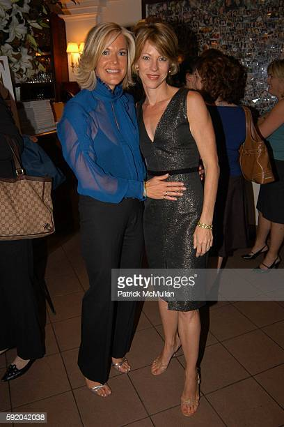 Kathleen FlynnHui and Robbie Myers attend Warner Books and ELLE launch of Beyond the Blonde at Nello on September 21 2005 in New York City