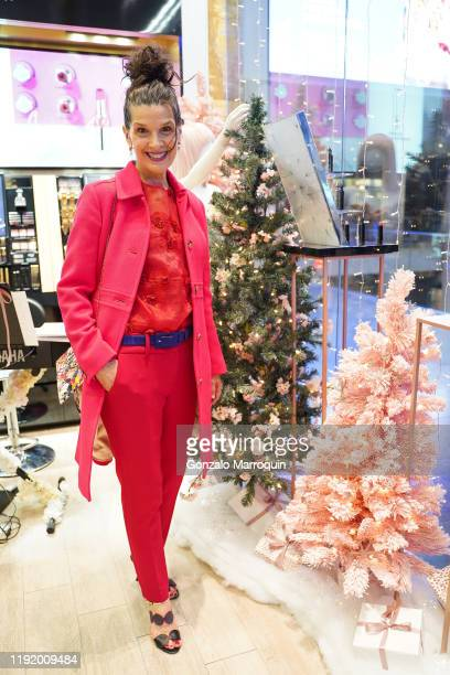 Kathleen Giordano during the COS BAR & VICTOR dE SOUZA'S Cirque Du Holidays Toy Drive at Cos Bar Brookfield Place on December 04, 2019 in New York...