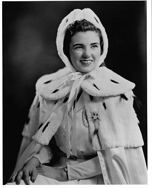 Kathleen Hanson Nickelson Queen of the Snows at the St Paul Winter Carnival 1941