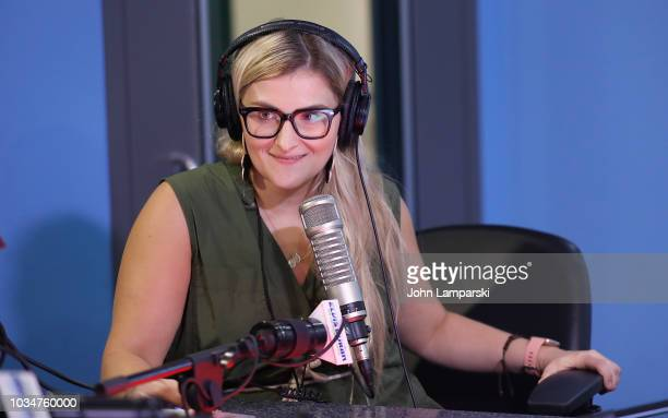 Kathleen Heaney speaks as cohost Medha Gandhi joins The Elvis Duran Z100 Morning Show at Z100 Studio on September 17 2018 in New York City