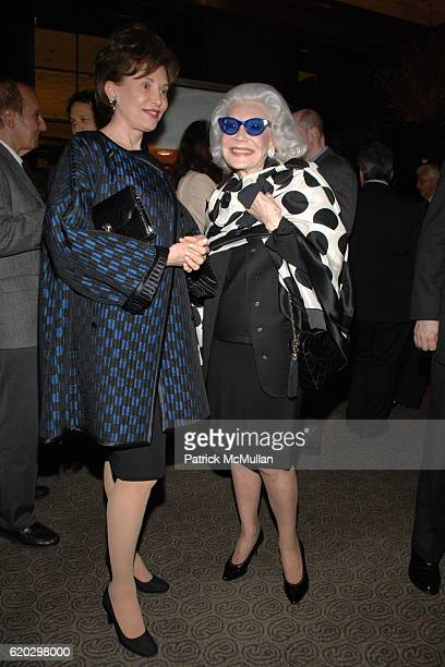Kathleen Hearst and Anne Slater attend TIFFANY CO hosts a book party for Sunday at Tiffany's by JAMES PATTERSON at Tiffany Co on April 29 2008 in New...