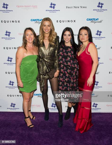 Kathleen Kelly Petra Nemcova Sophie Lasry and Tina Lindstrom attend the All Hands and Hearts Smart Response Third Annual Fight For Education gala at...