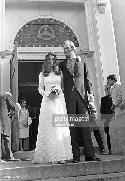 Kathleen Kennedy and David Townsend are married circa 1973 in Washington DC